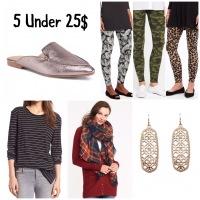Five Under 25$