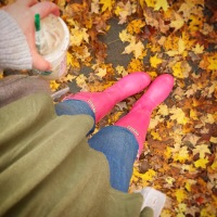 Fall and Hunter Boots #ootd
