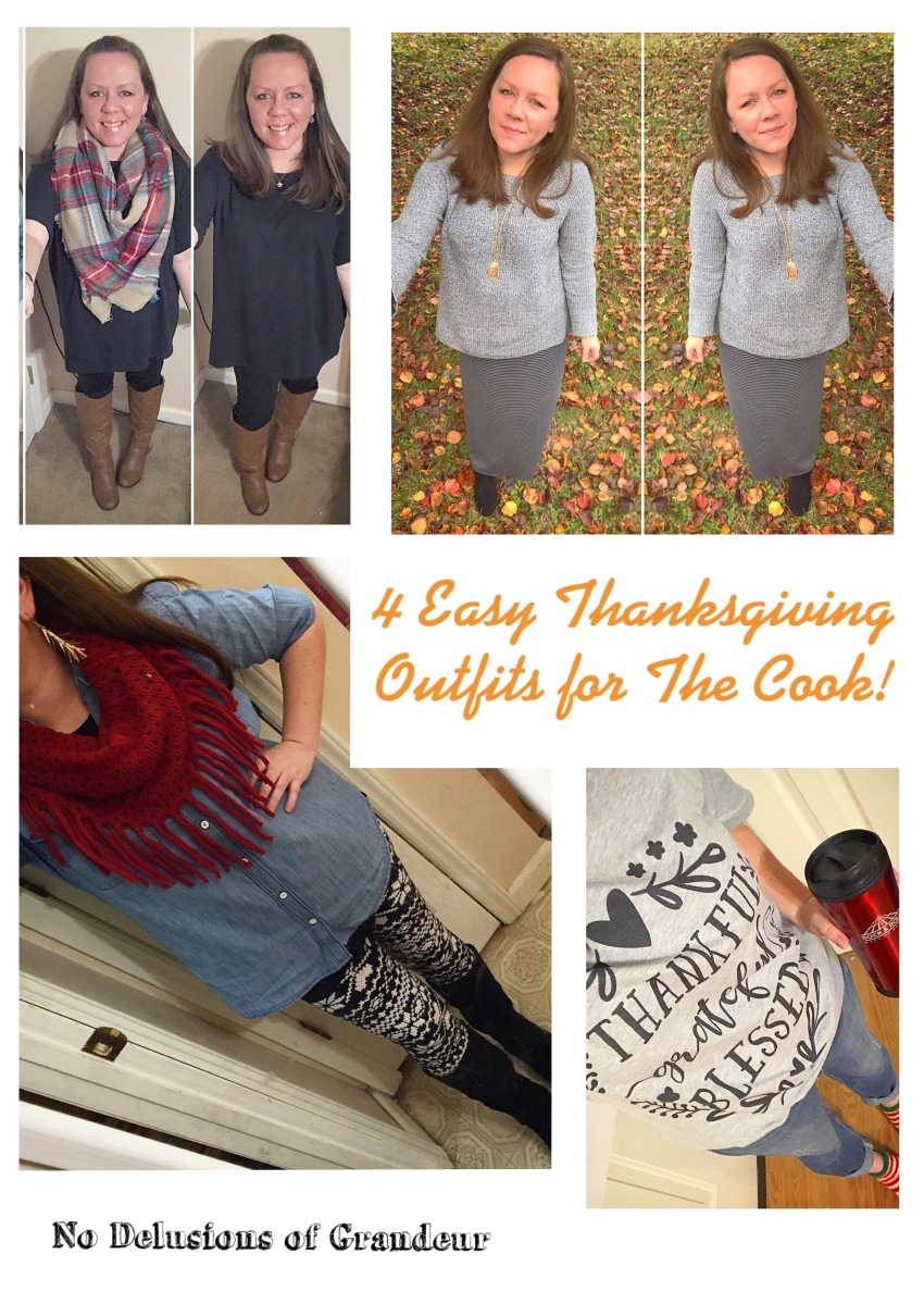 4 (Easy!) Thanksgiving Outfits for The Cook