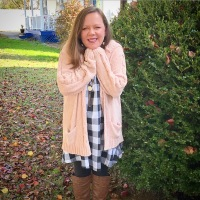 Summer Swing Dress and Chenille For Fall #ootd
