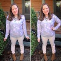 Skinnies and a Sweatshirt x2 #ootd