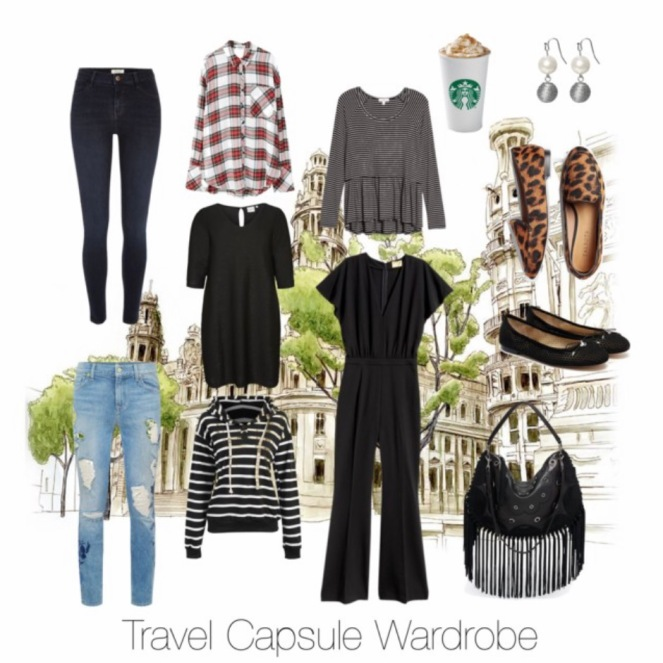 i love the idea of capsule wardrobes where each piece works with almost all the other pieces to create multiple outfit combinations