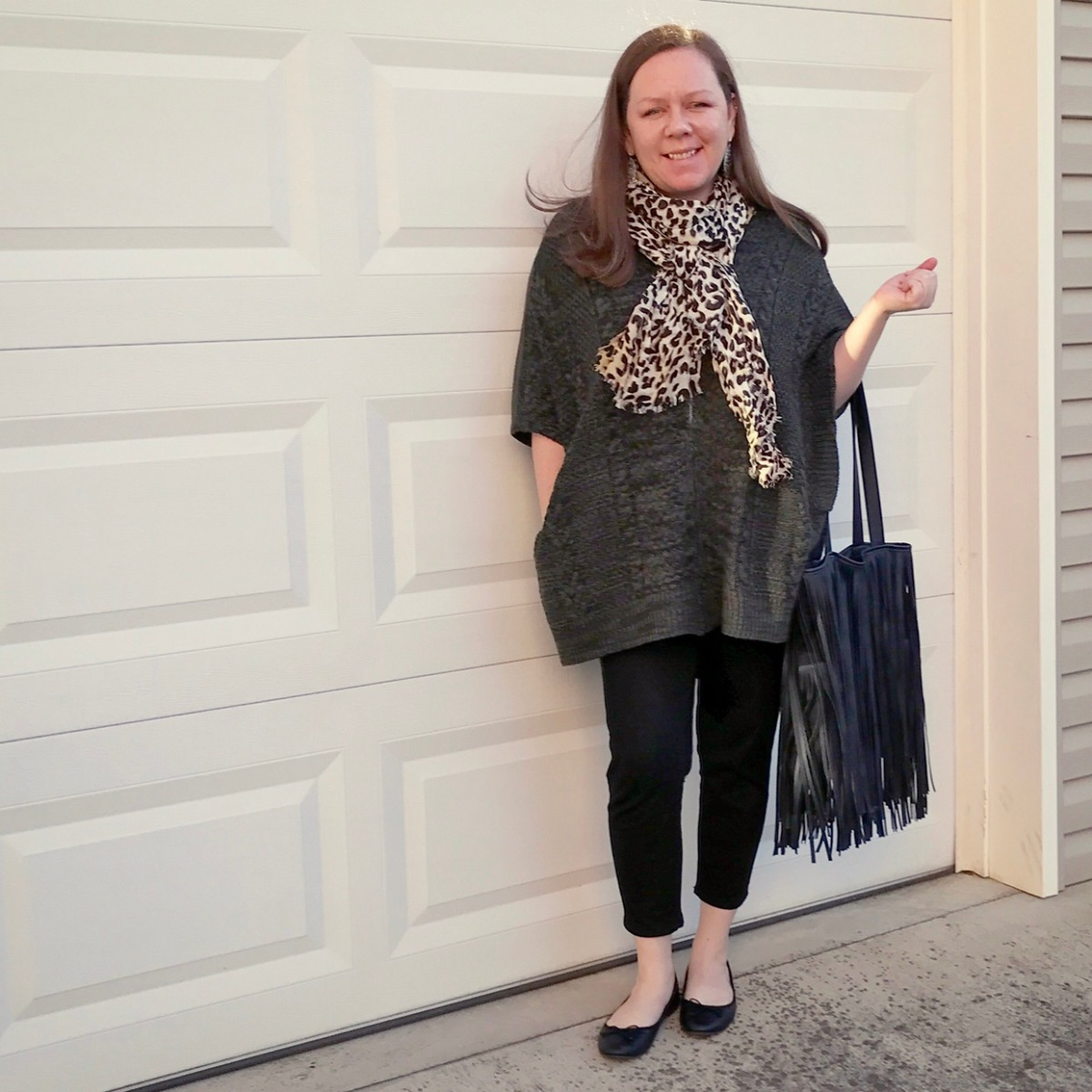 Retro Style: The Poncho #ootd