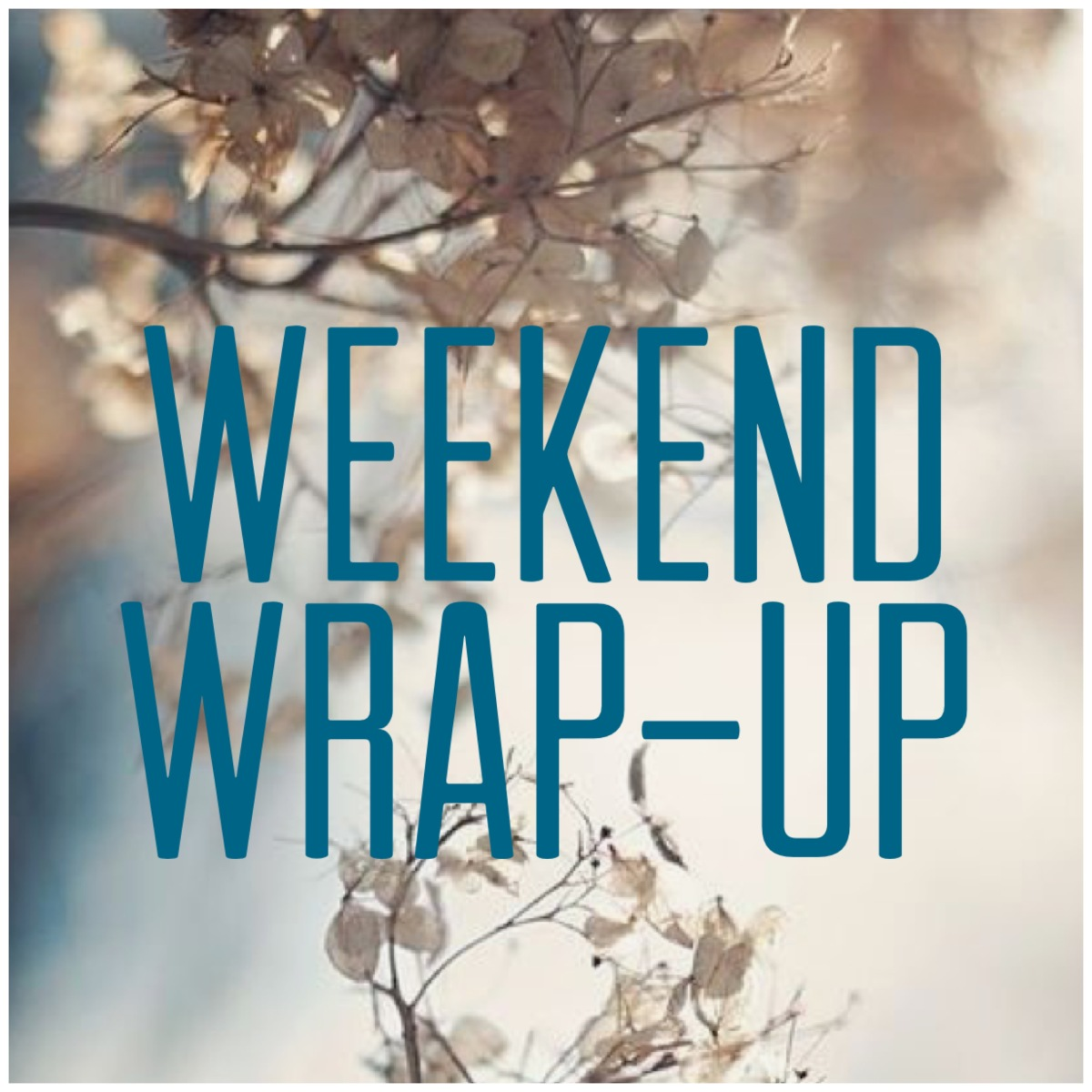 Weekend Wrap-up