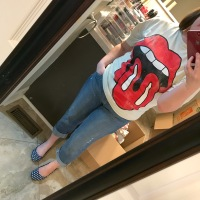 Rolling Stones Tee #ootd and Where I Get My Band Tees