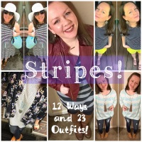 Obsessed With Stripes: 12 Ways and 23 Outfits!