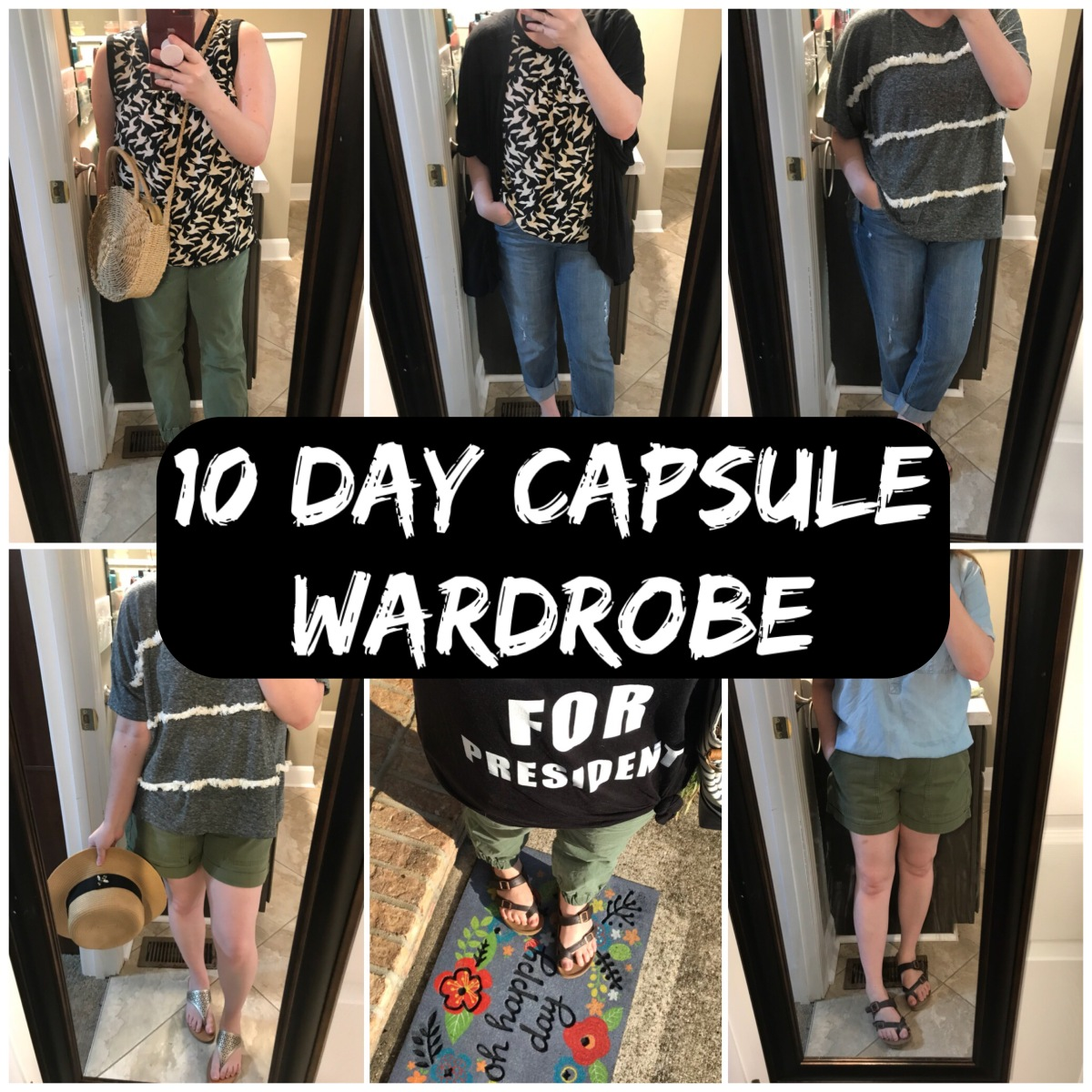 10 Day Capsule Wardrobe
