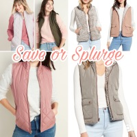 Save or Splurge: Quilted Vest
